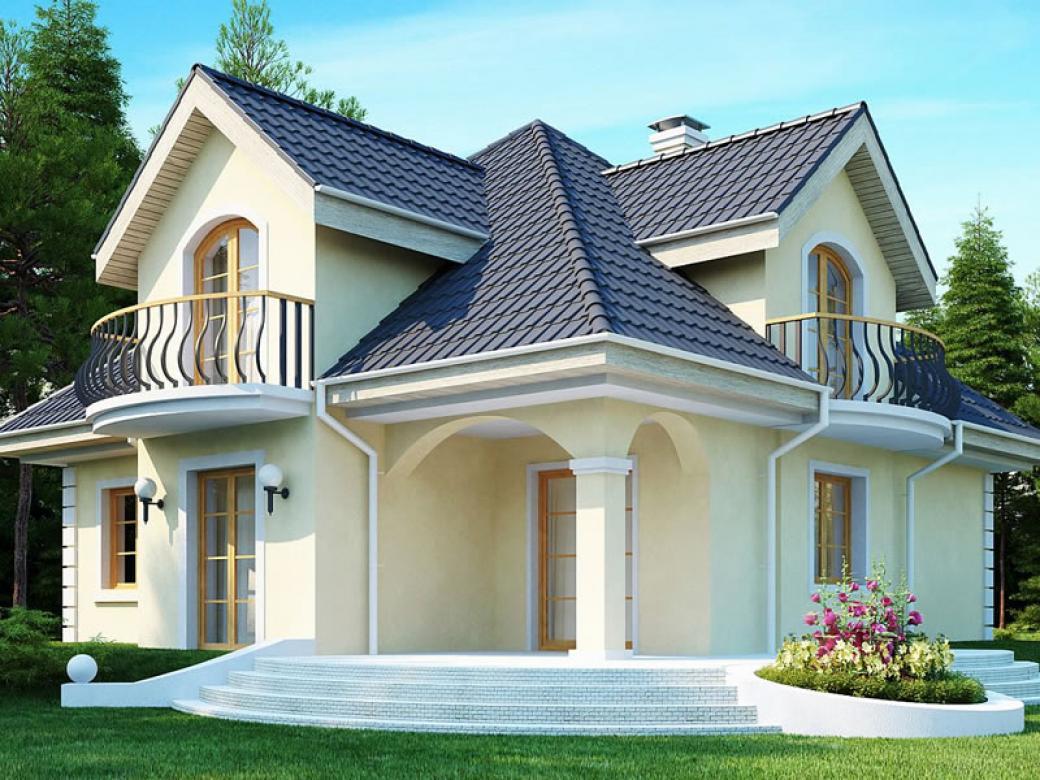 Projekti ku a tedljive ku e for Most popular house plans 2017
